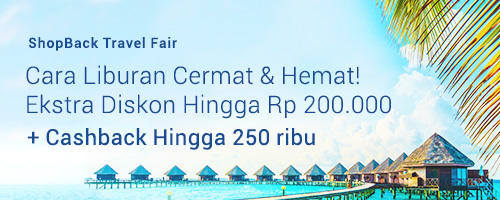 Promo Travel Fair ShopBack ID