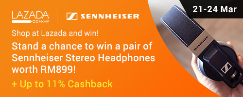 Lazada Birthday: Sennheiser Headphones