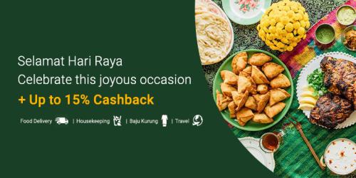 Hari Raya Promotions: Max 15% Cashback