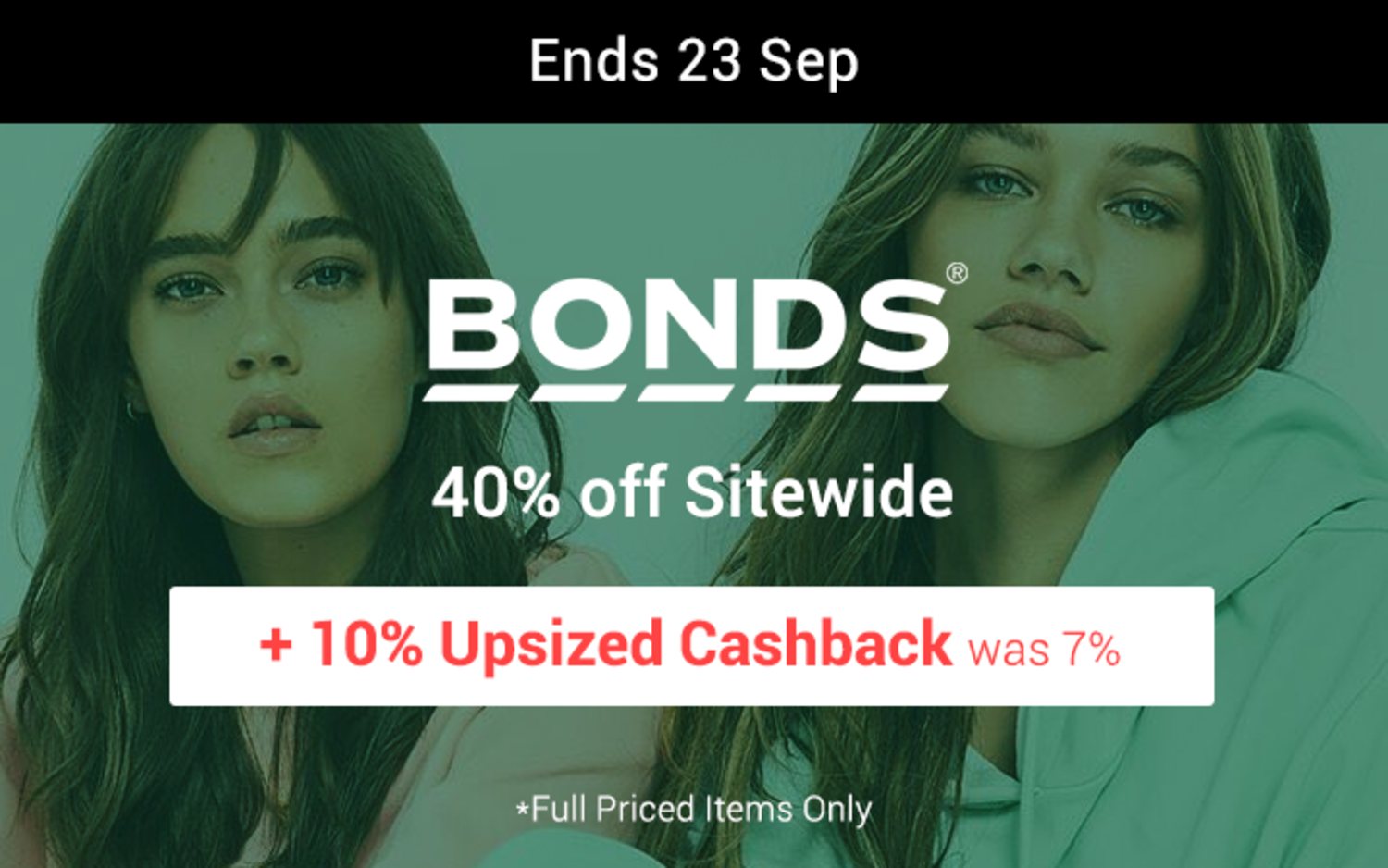 Bonds - 40% off Sitewide