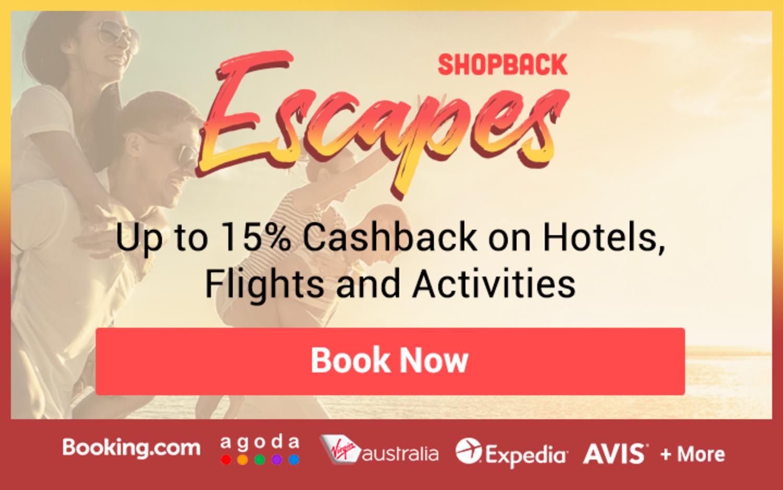 Travel Deals Page - ShopBack Escapes