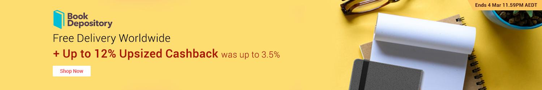Book Depository - Up to 12% Upsized Cashback