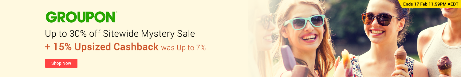 Groupon - Up to 30% off Sitewide