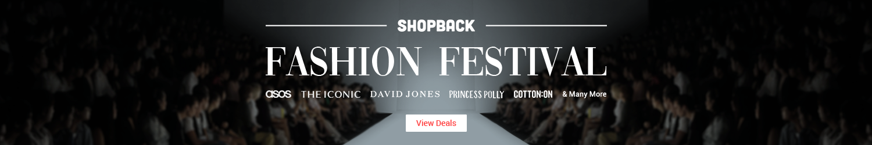 ShopBack Fashion Festival (February 2019)