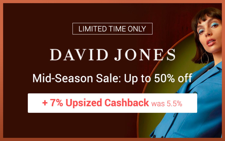 David Jones - Mid-Season Sale