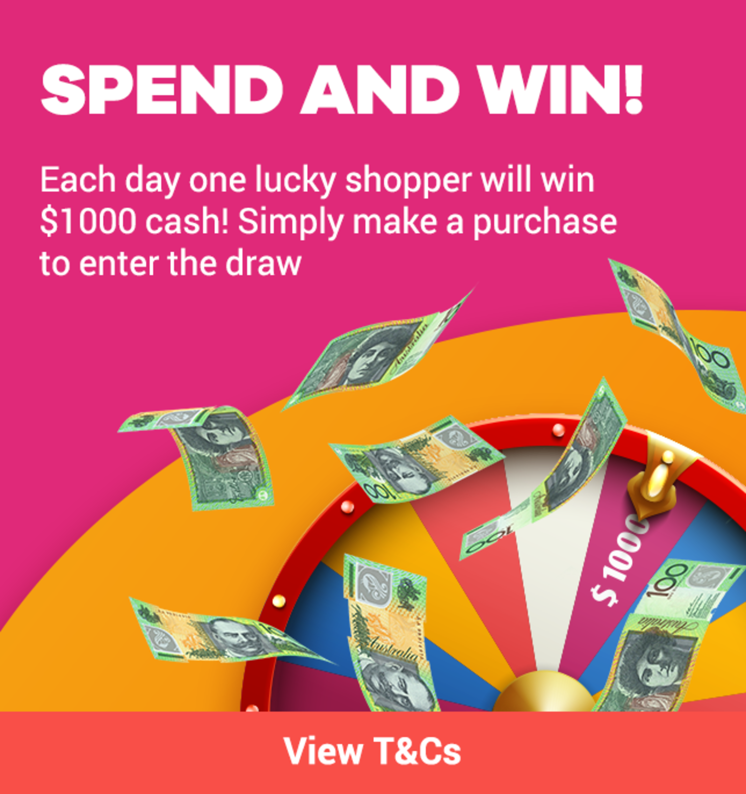 ShopBack 1st Birthday - Competition