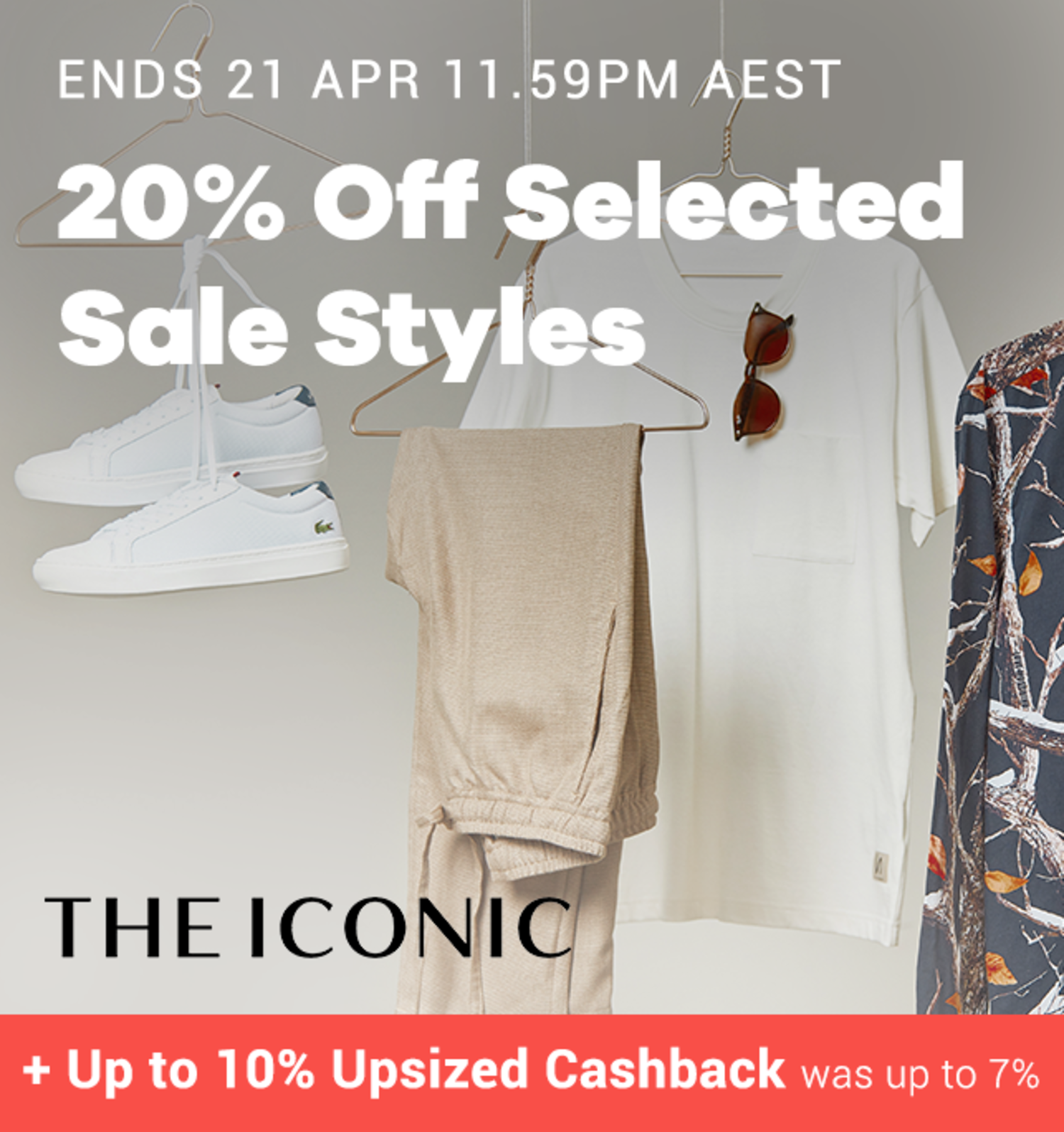 THE ICONIC - 20% off Selected Sale Styles - Birthday
