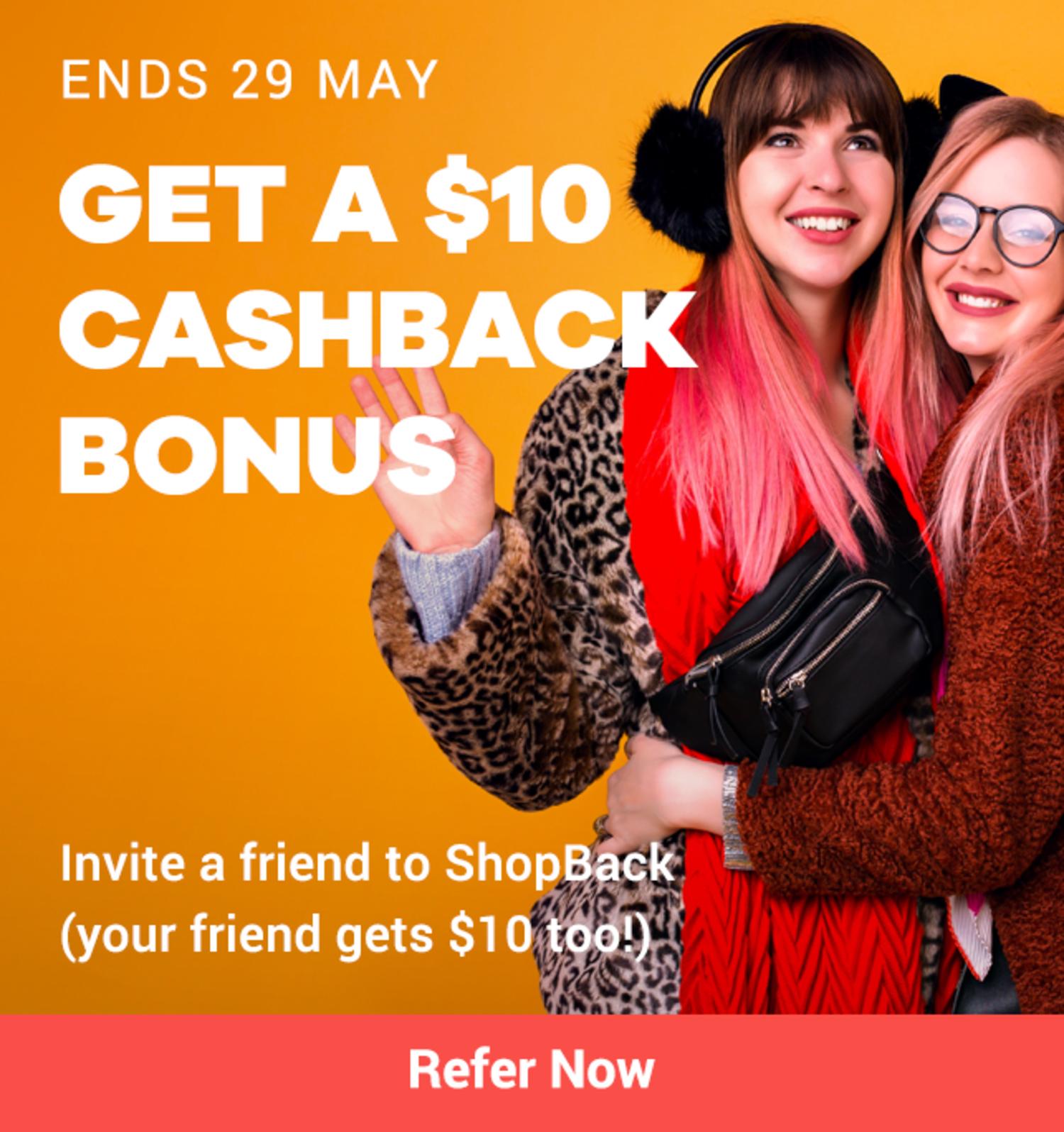 Refer a Friend (RAF) - Click Frenzy (May 2019)