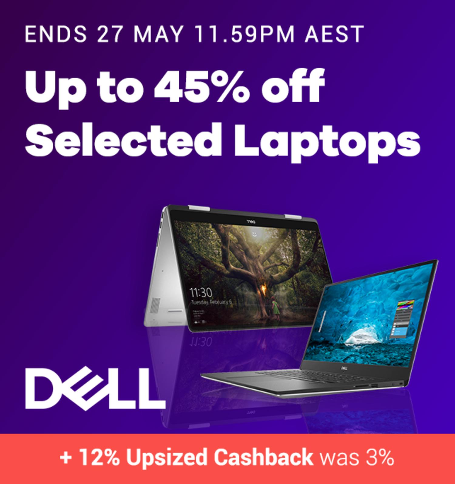 Dell - 12% Upsized Cashback