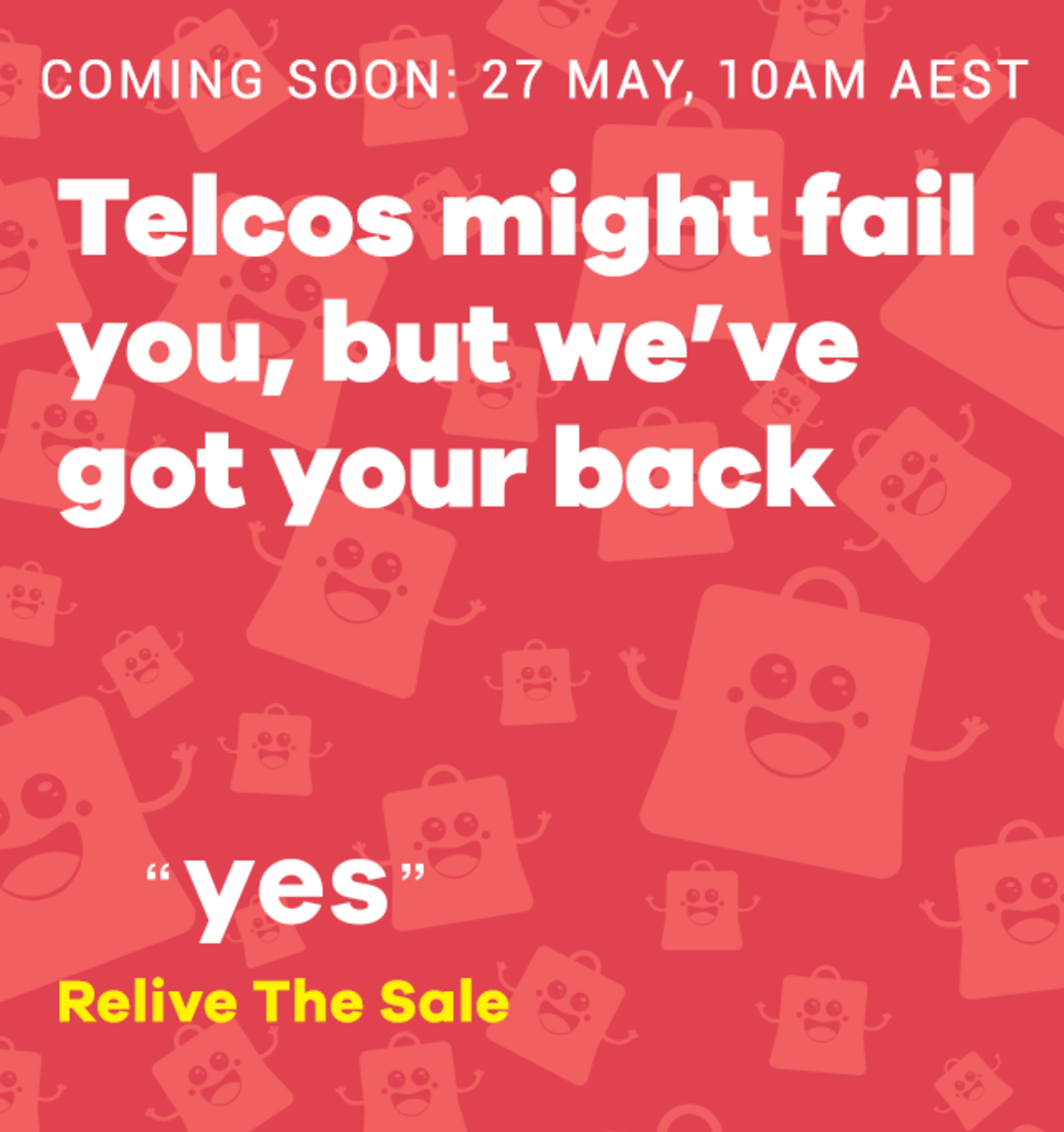 Relive the sale
