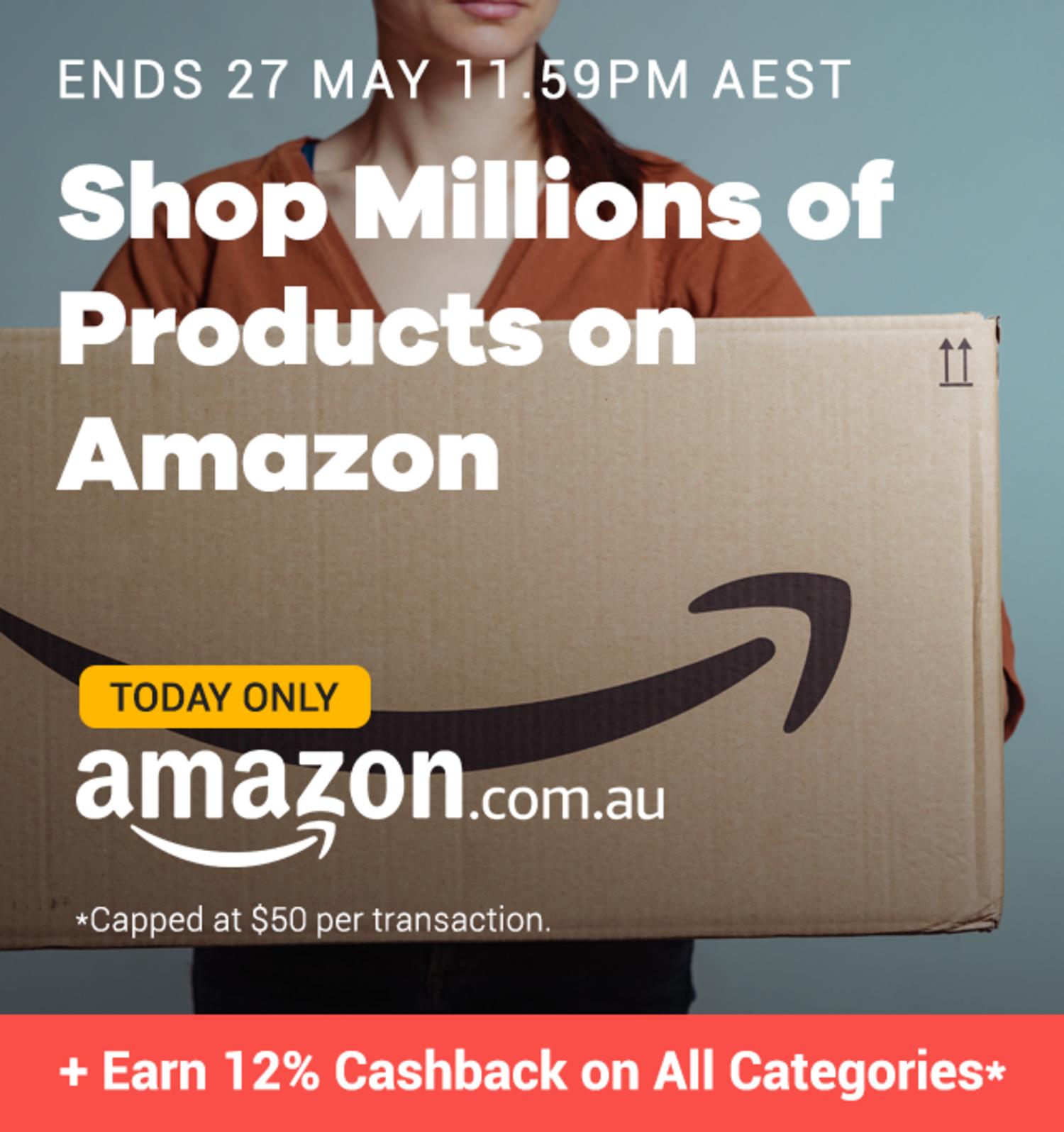 Amazon - 12% Upsized Cashback