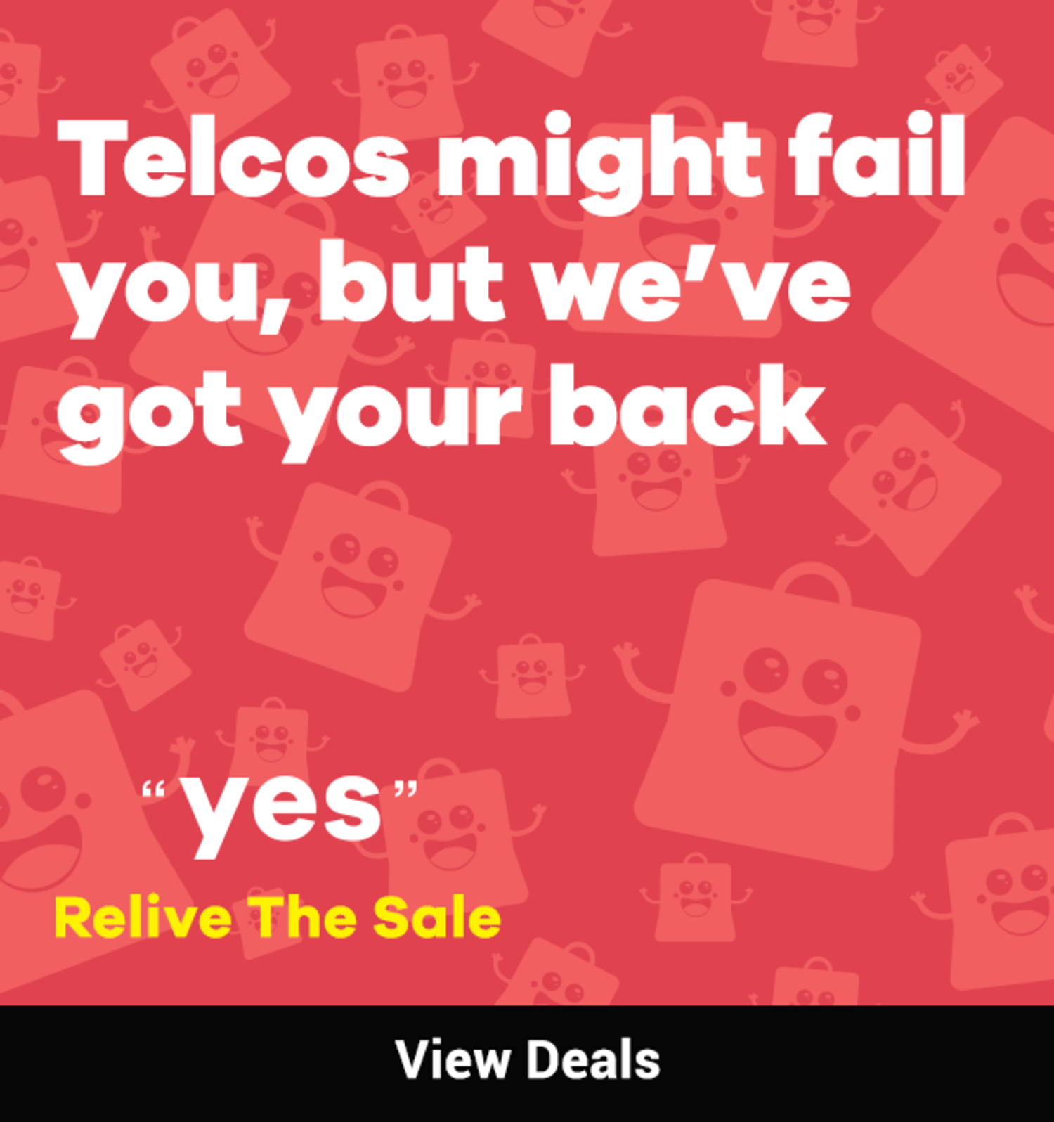 Yes! Relive The Sale