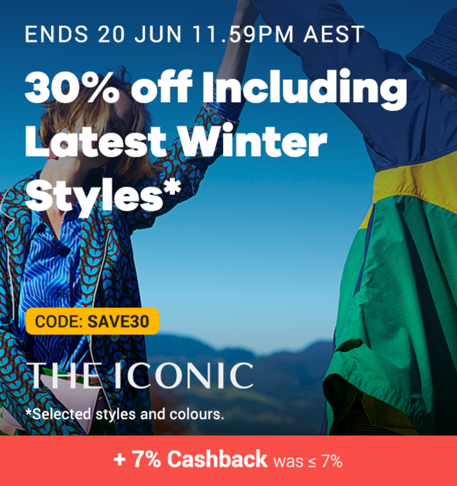 THE ICONIC - 30% off Winter Sale