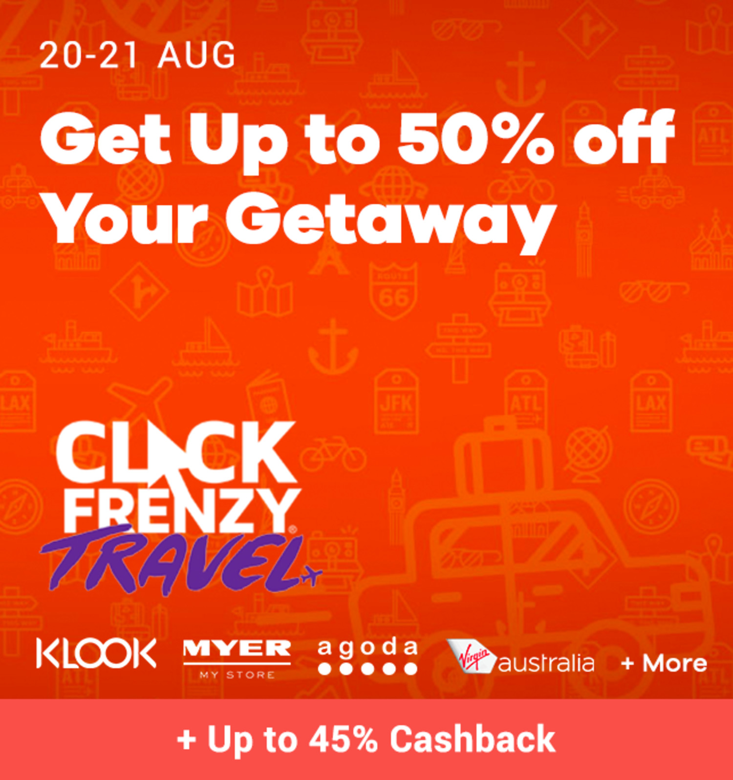 Click Frenzy Travel (August 2019)