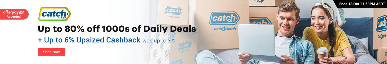Catch.com.au - Up to 6% Upsized Cashback