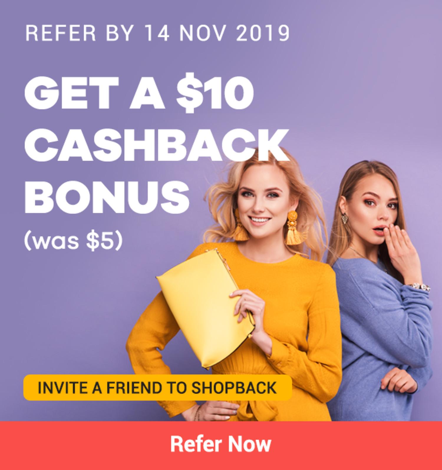 Refer a Friend (RAF) (November 2019)