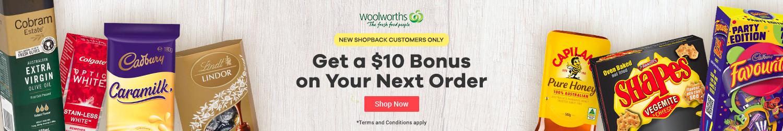 ShopBack - Woolworths - $10 Bonus - New Customer Offer