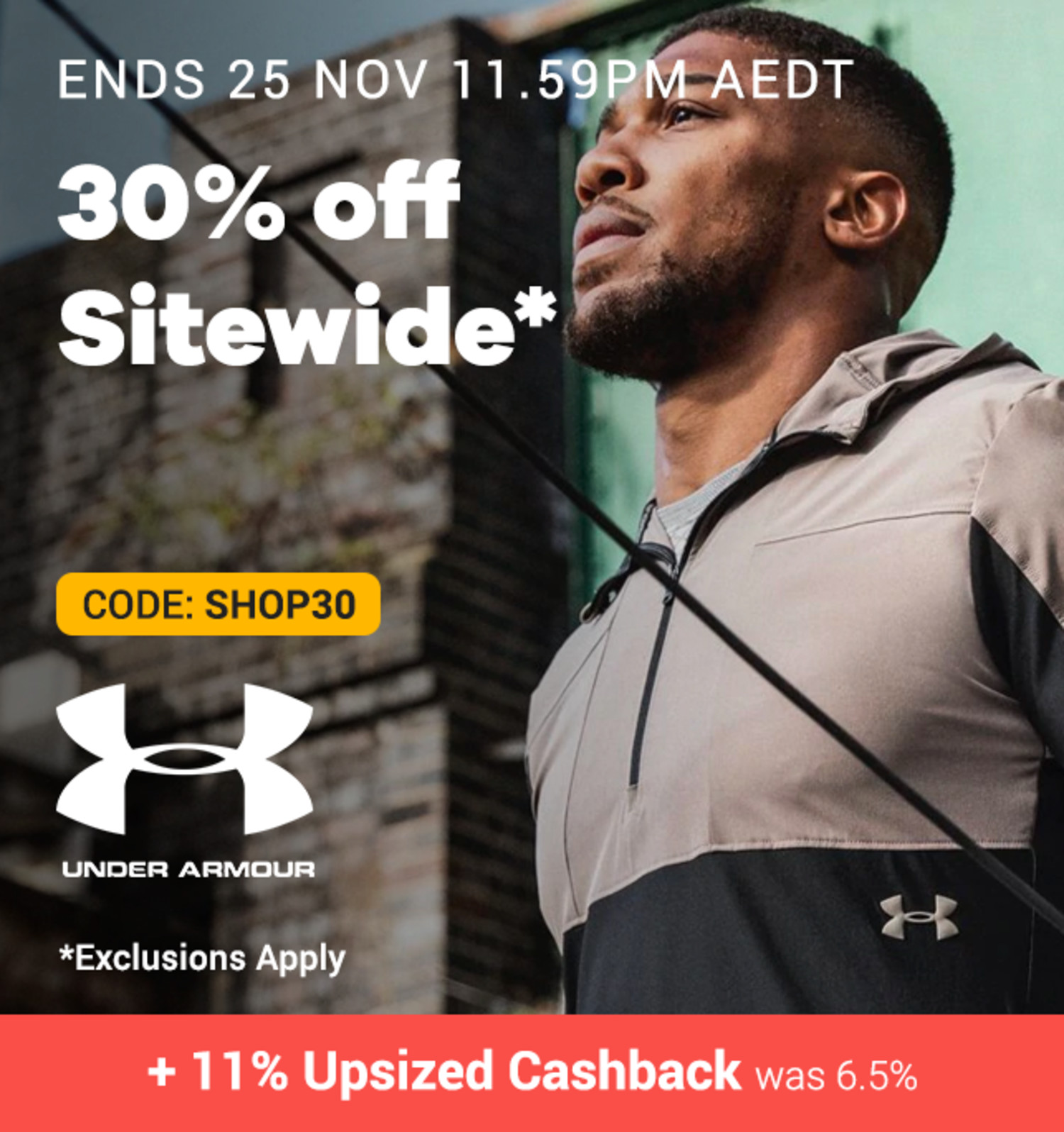 Under Armour - 30% off Sitewide