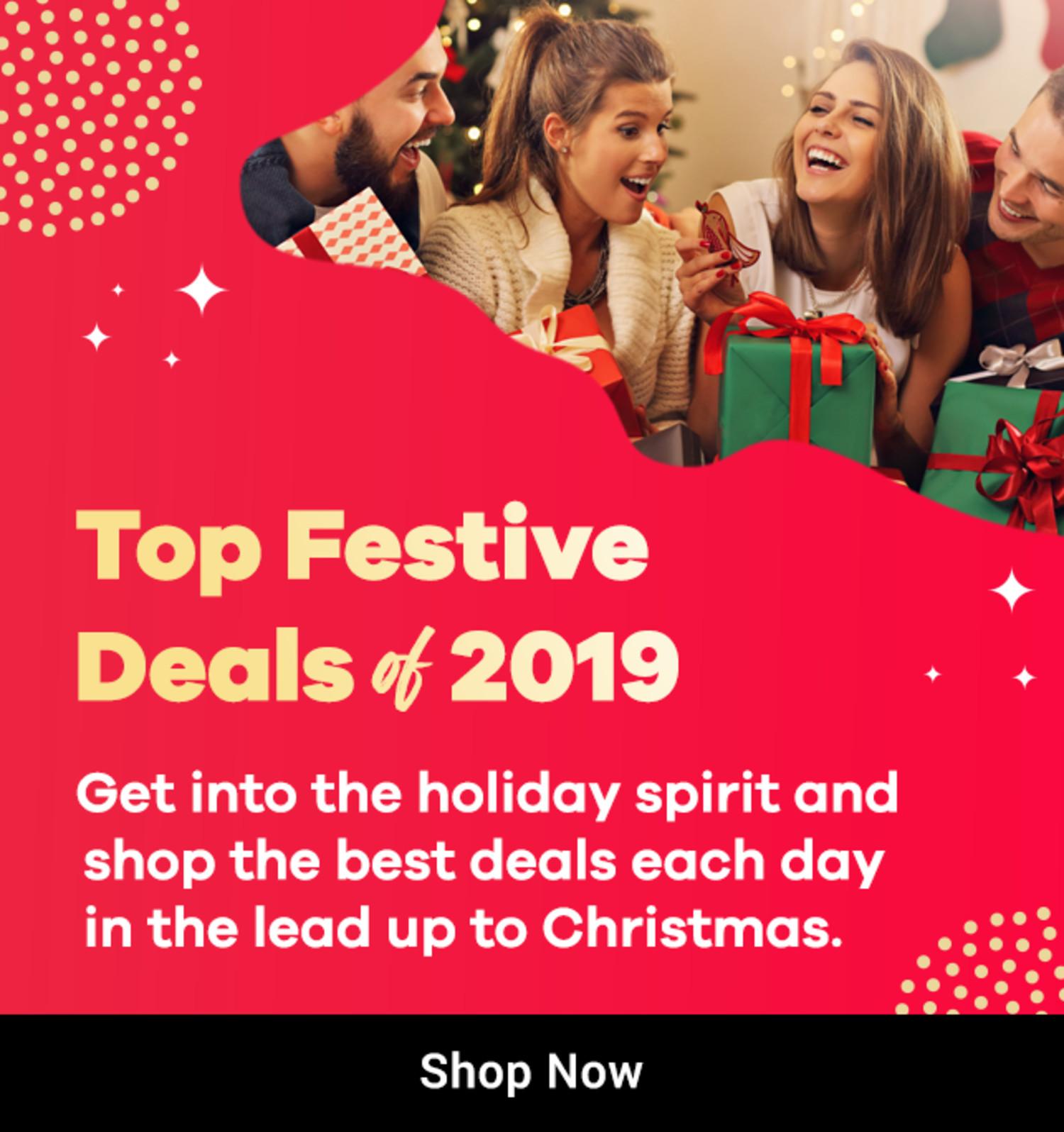 ShopBack - Top Festive Deals 2019