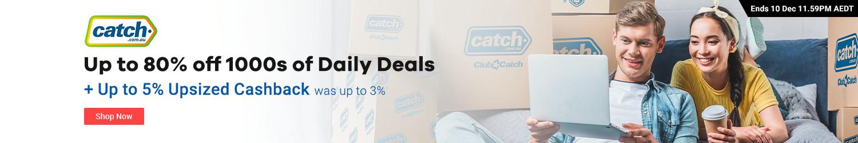 Catch.com.au - 5% Upsized Cashback (December 2019)