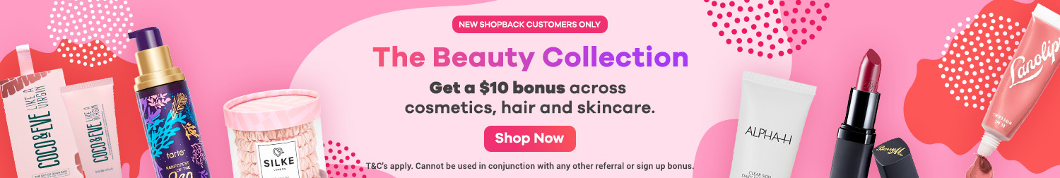 ShopBack - New Customer Beauty Offer 2019