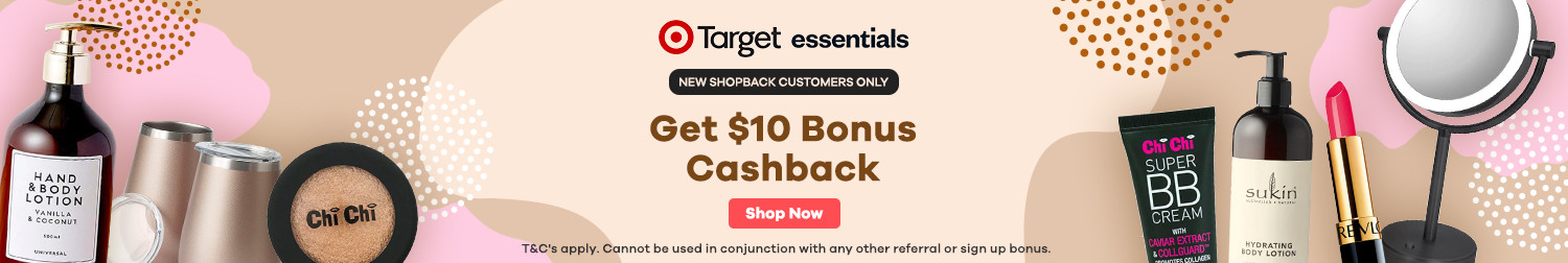 ShopBack - New Customer Target Essentials Offer
