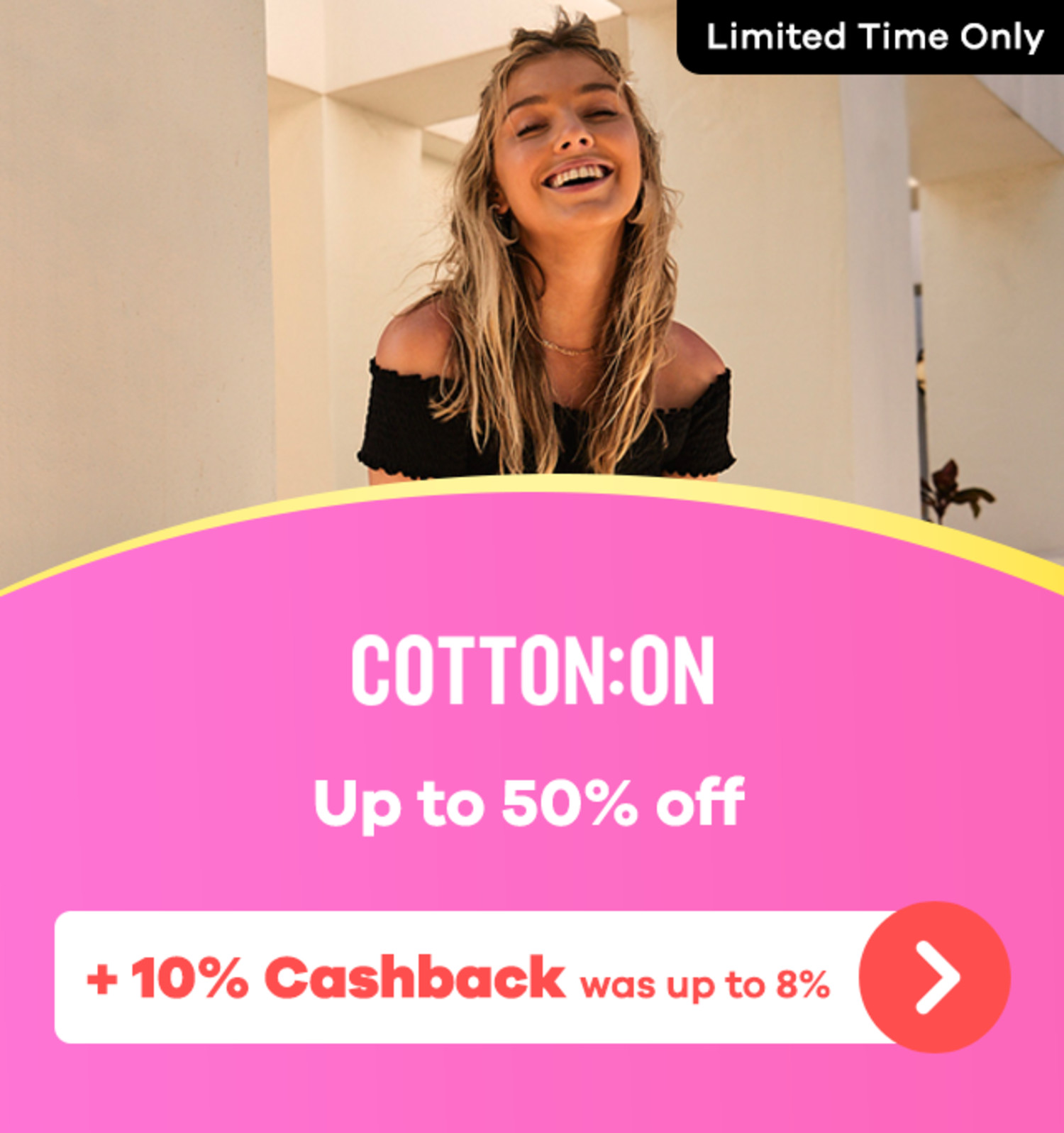 Cotton On - Up to 50% off