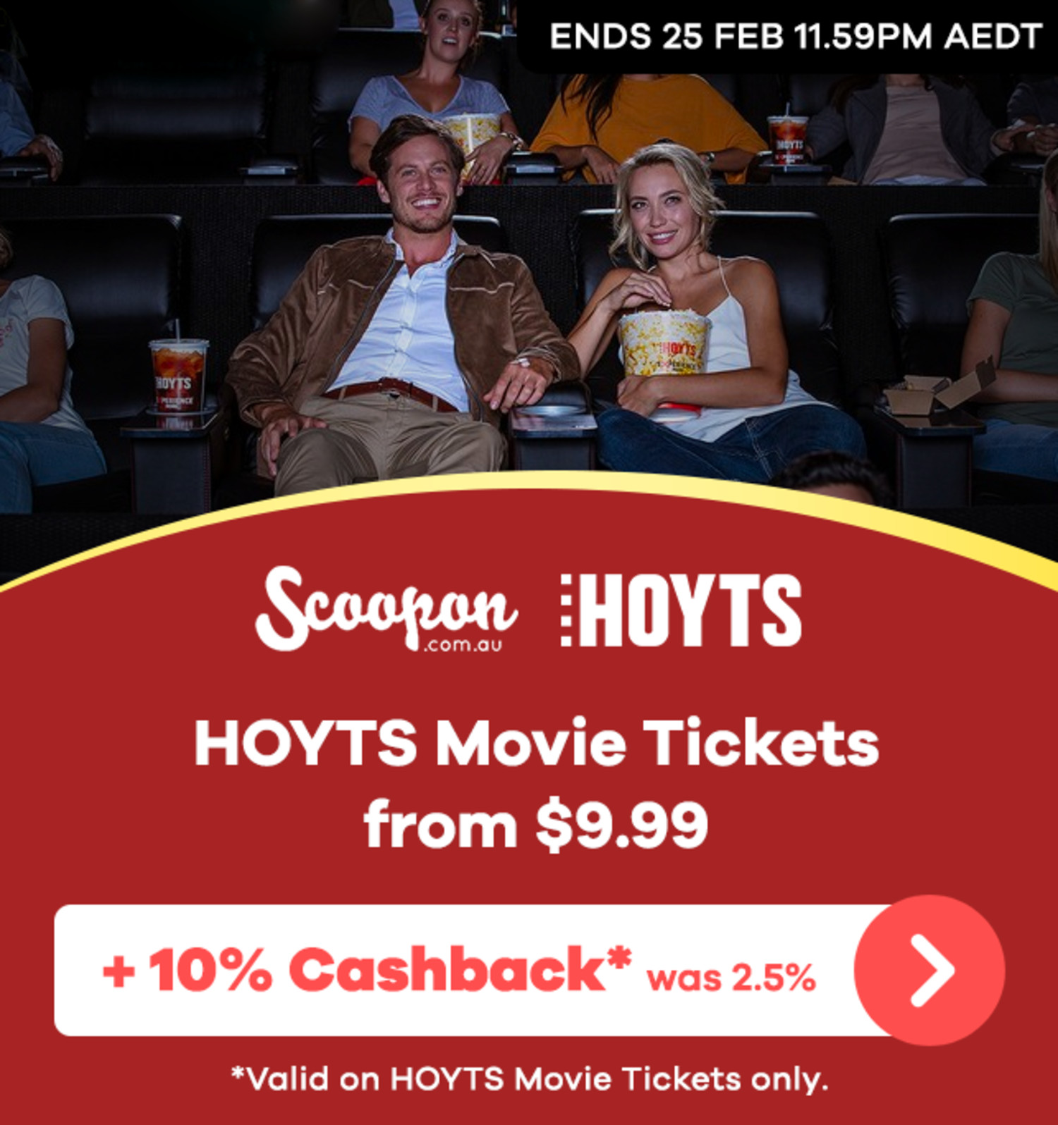 Scoopon - Hoyts Movie Tickets