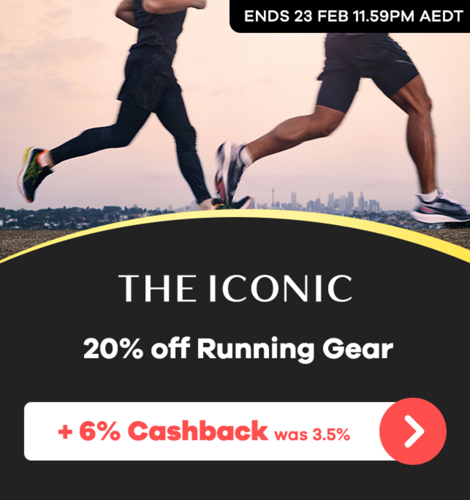 THE ICONIC - 20% off Running Gear