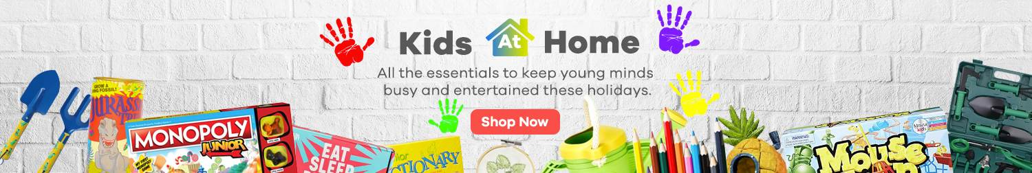 ShopBack   Kids at home   Essentials for young minds   April 2020