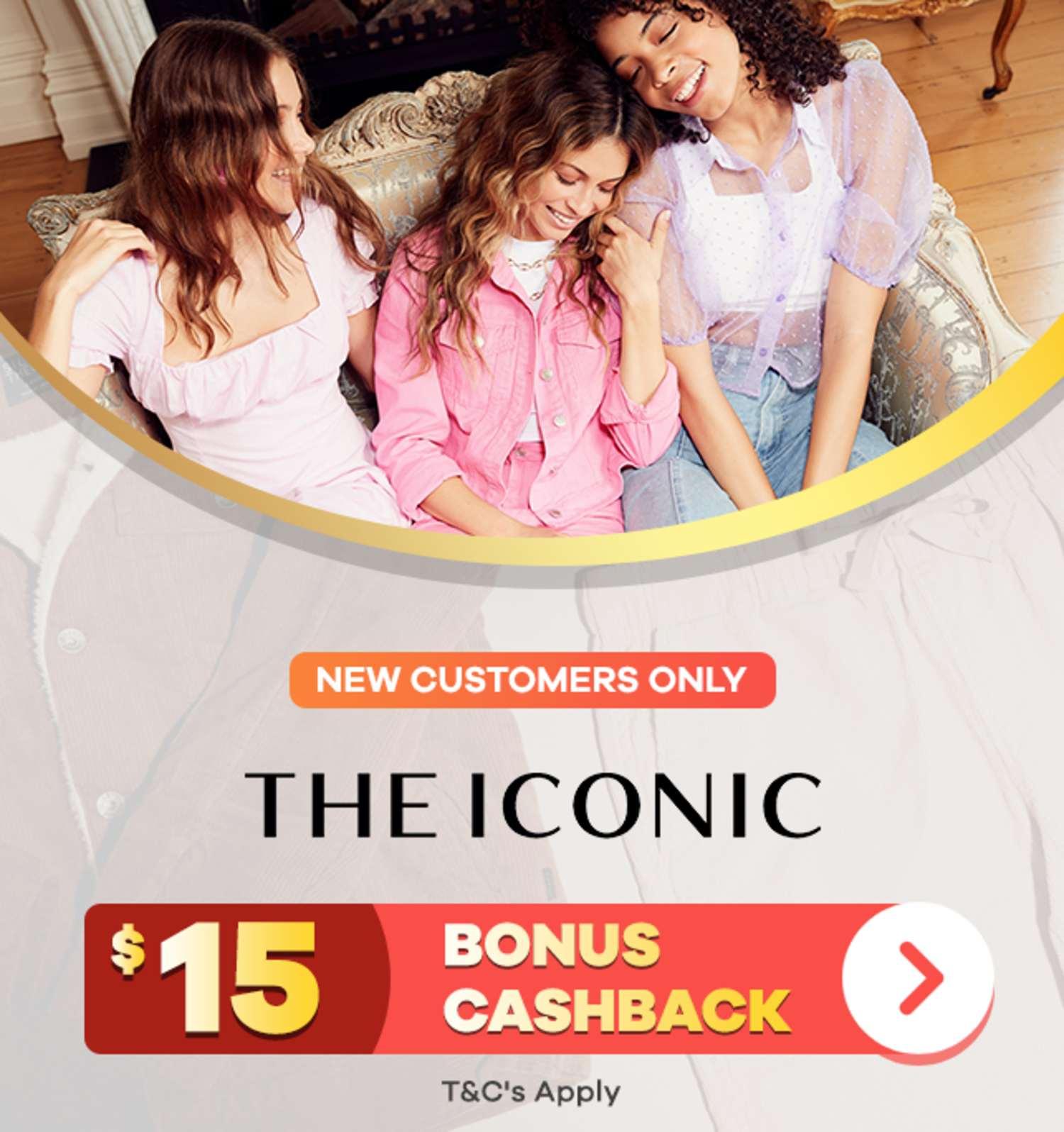ShopBack | New Customer Offer | $15 Bonus Cashback at THE ICONIC