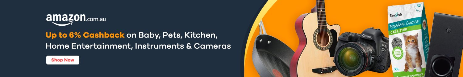 Amazon - Up to 6% Cashback on Selected Categories