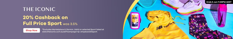 THE ICONIC - 20% Upsized Cashback (June 2020)