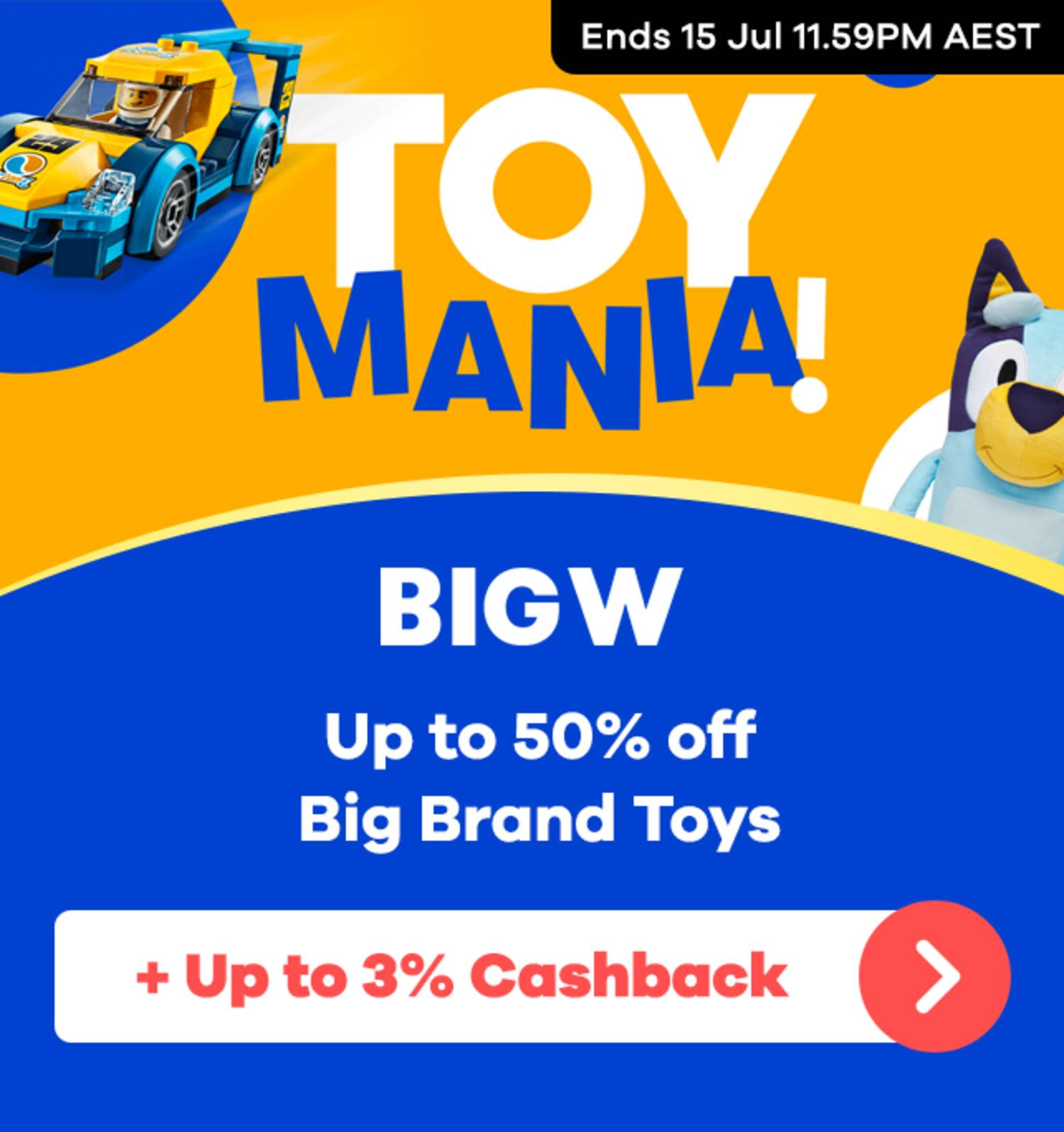 BIG W - Toy Mania Sale