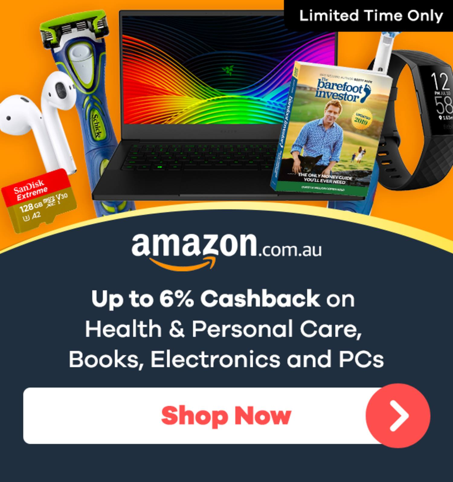Amazon - Cashback on New Categories