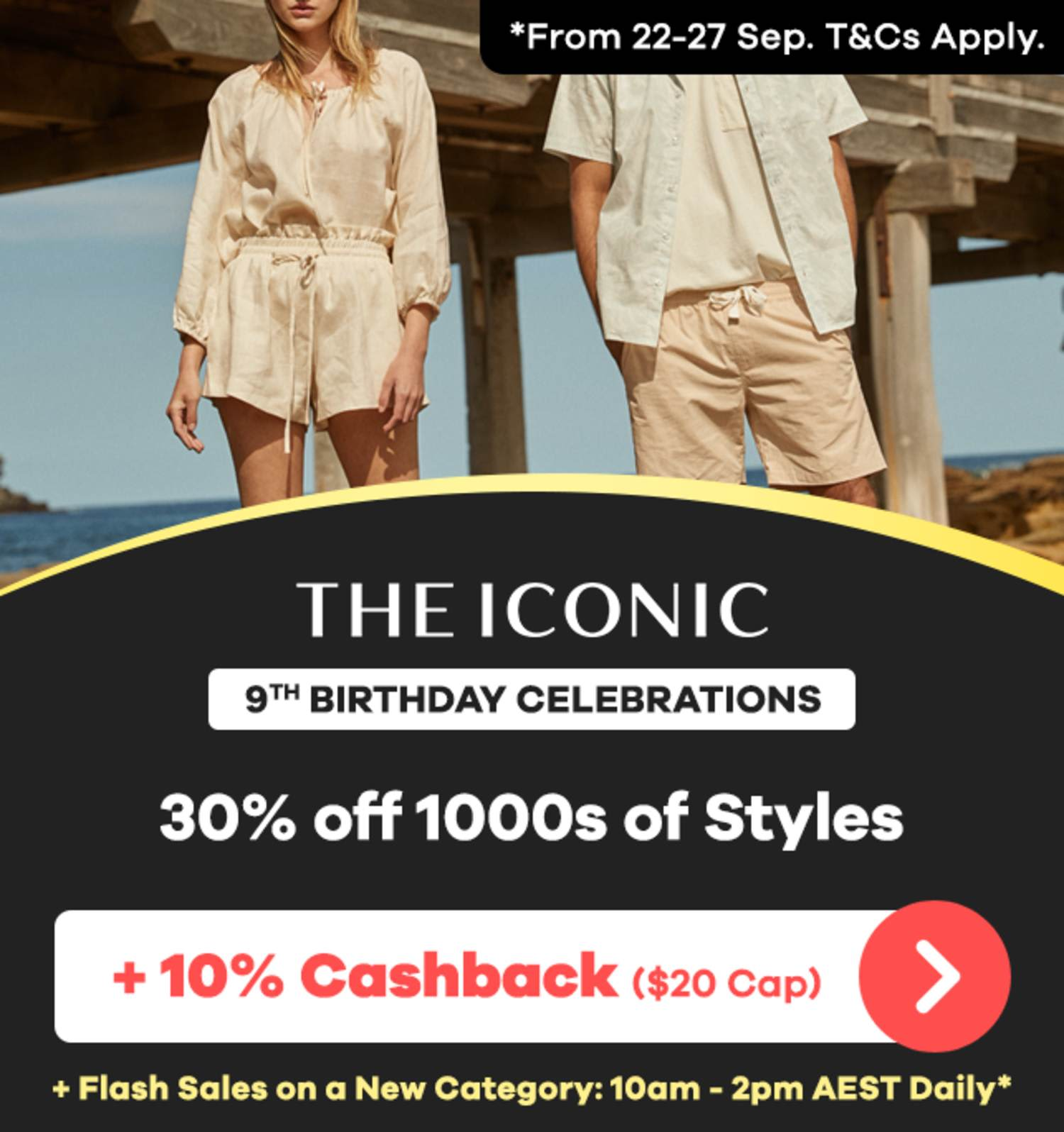 THE ICONIC - 9th Birthday Sale