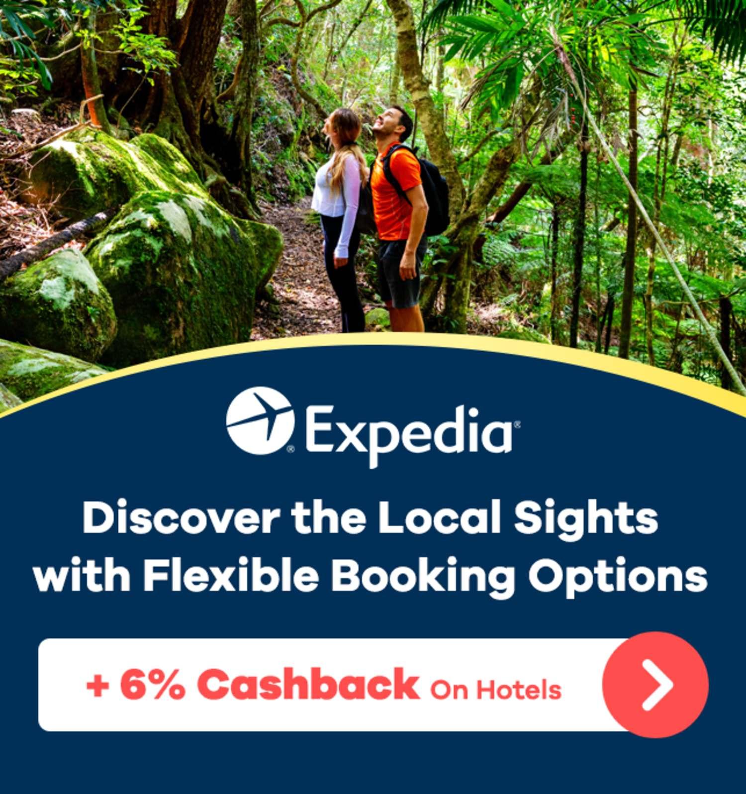 Expedia - 6% Cashback on Hotels - GENERIC