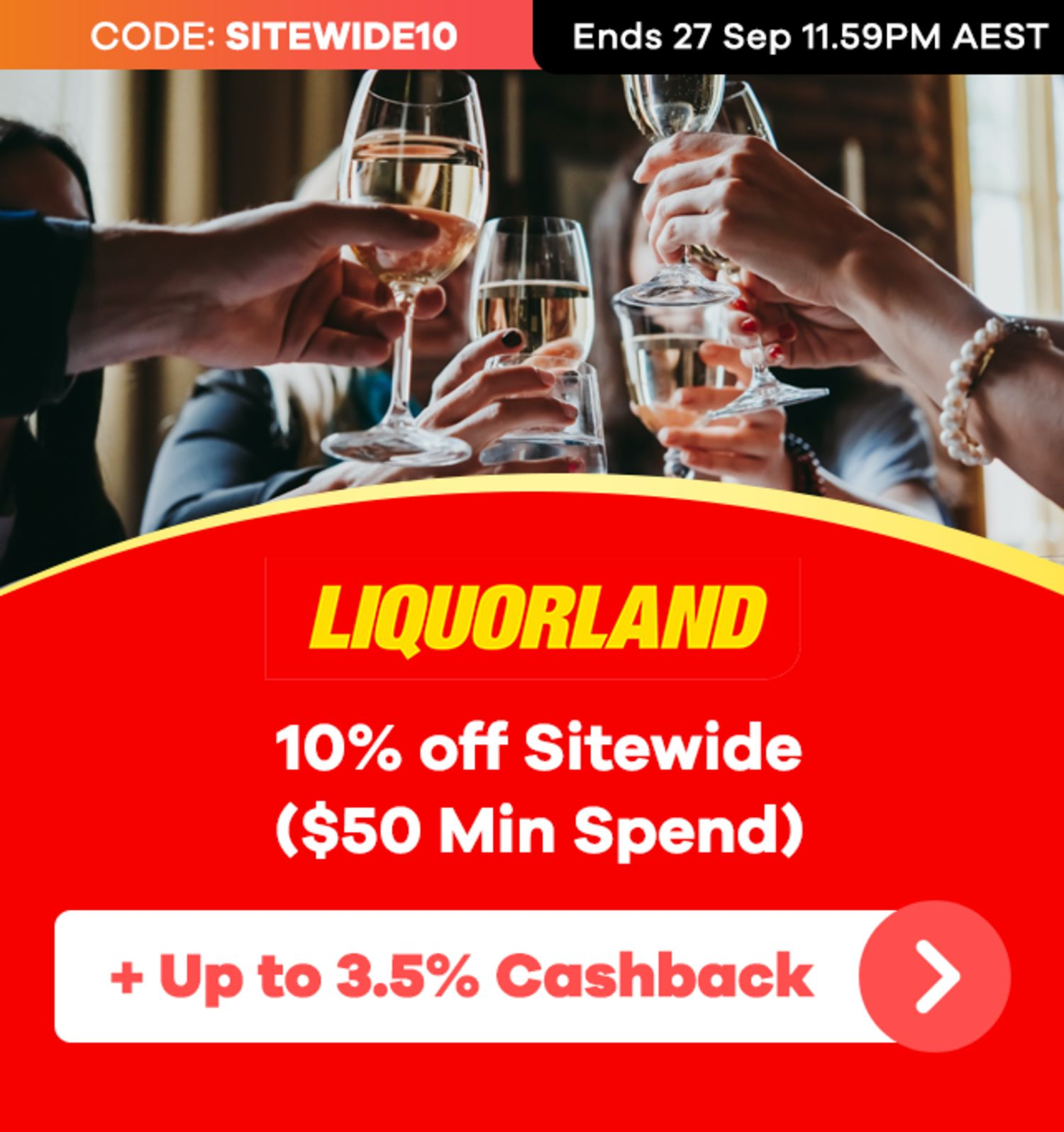 Liquorland - 10% off Sitewide