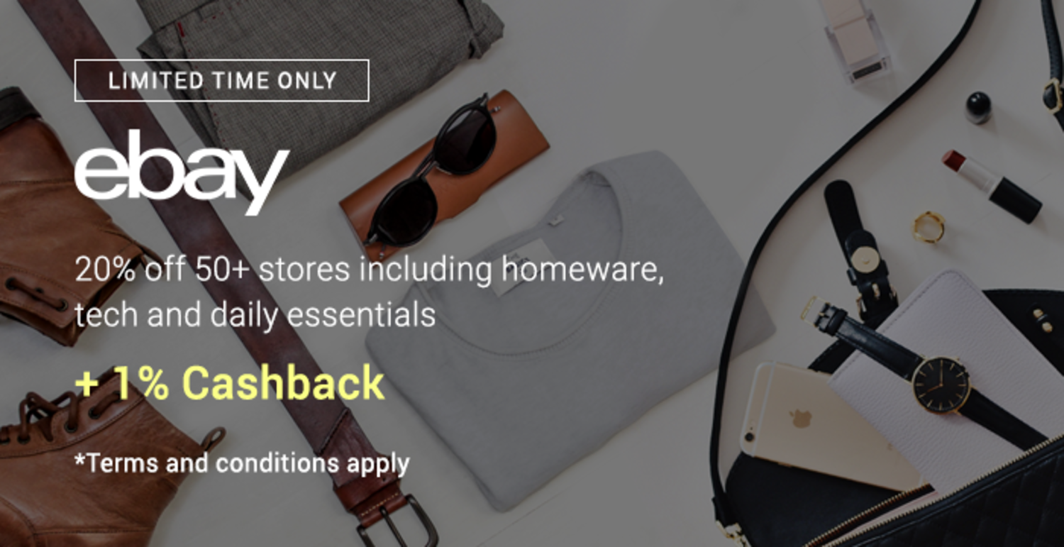 eBay May 21 Promotions from 15 May