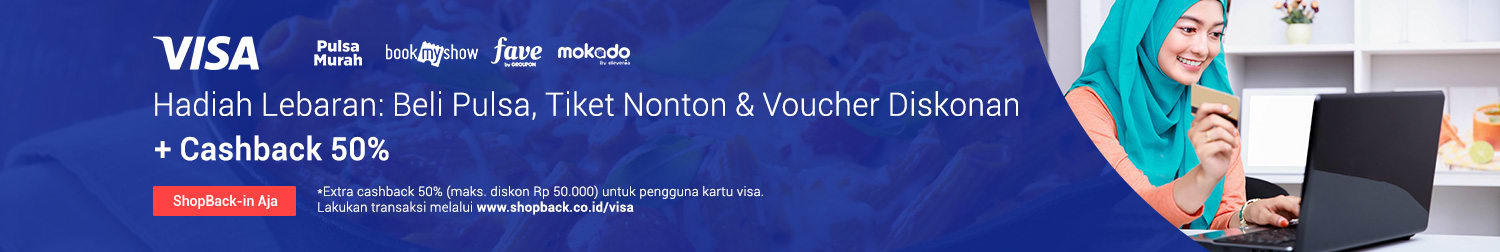 Promo Pulsa & Weekend Deals Visa