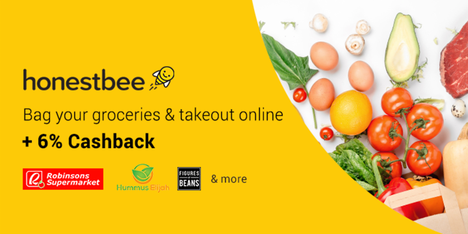The Smarter Way to do Groceries: Earn 6% Cashback with Honestbee and ShopBack