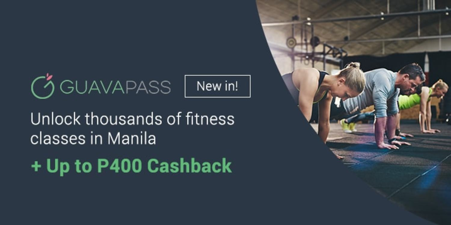 NEW IN: Get up to P400 on Guavapass membership with ShopBack