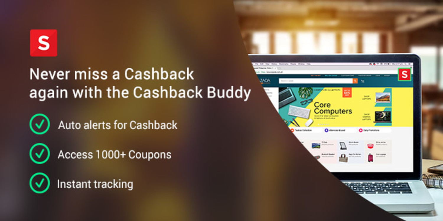 Never miss a Cashback again! Get the Cashback Buddy Extension now