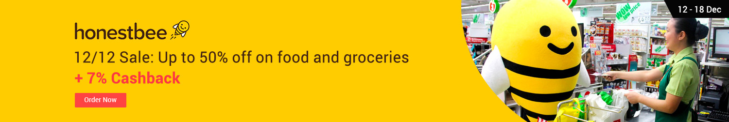 Honestbee Get P500 off your first grocery delivery Use code: GOODGROC500 + 7% Cashback