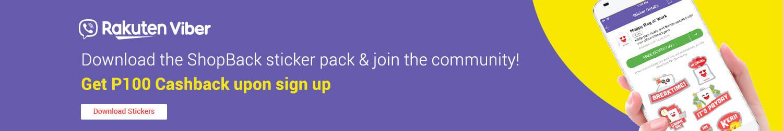 Rakuten Viber: Download the ShopBack sticker pack & join the community