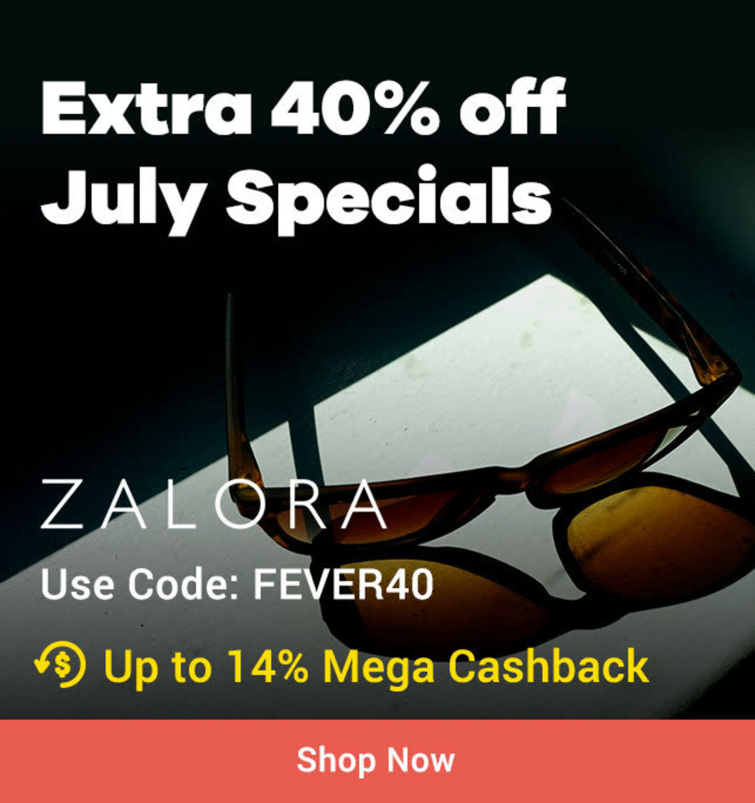 All July ZALORA Armani Exchange, Ray-ban, Coach: From P3,999 + Up to 14% Mega Cashback (<9%)