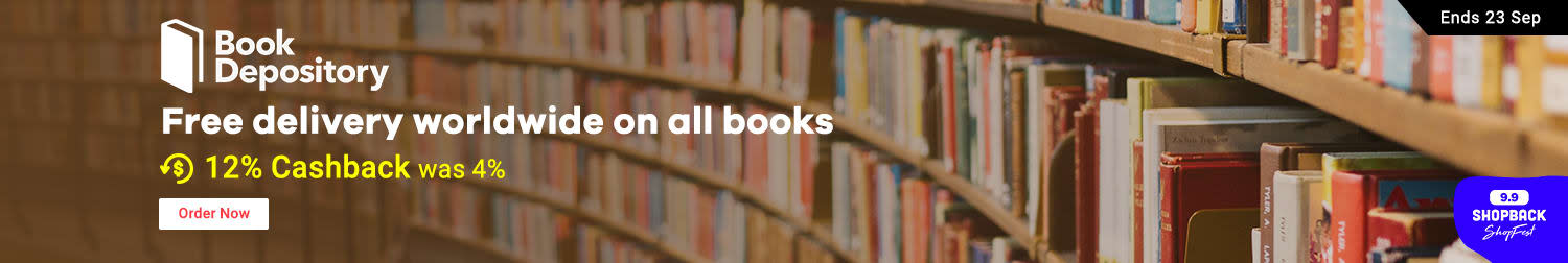 Free delivery worldwide on all books 12% Cashback