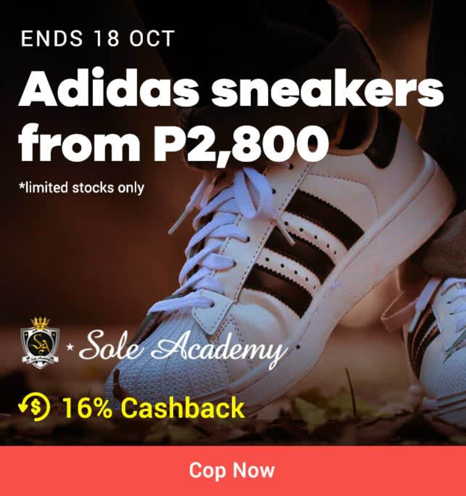 Sole Academy: Adidas sneakers from P2,800