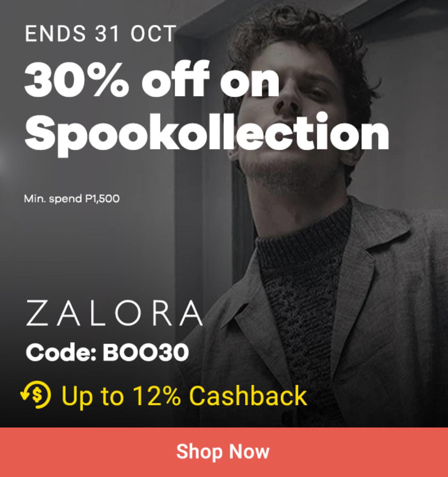 ZALORA: 25% + Free Shipping