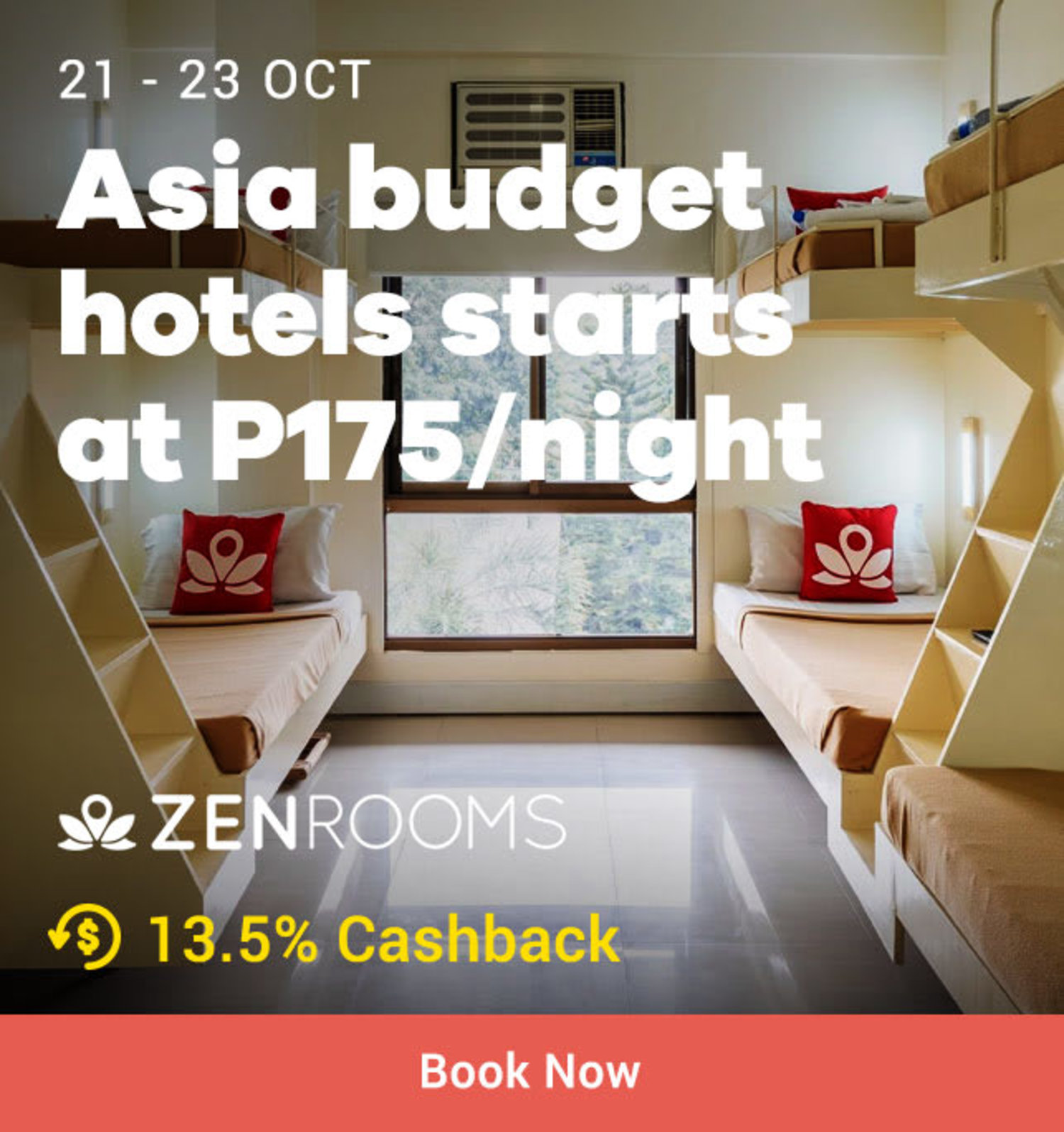 Zenrooms Voucher: Asia Budget Hotels starts at P175/ night